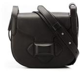 Michael Kors Daria Small Crossbody Saddle Bag in Black