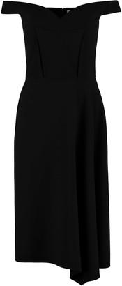 Alexander McQueen Wool Crepe Dress