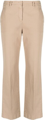 Incotex Straight-Leg Chino Trousers