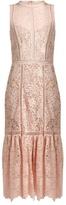 Rebecca Taylor Arella open-back cotton-lace dress