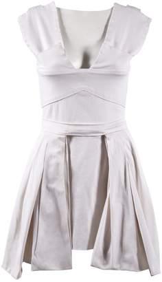 Preen White Cotton Dresses