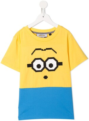 Mostly Heard Rarely Seen 8-Bit x Minions Mini-me Mini Goggles 8-Bit T-Shirt