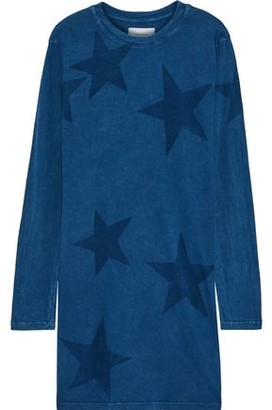 Current/Elliott The Beatnik Printed Cotton-jersey Mini Dress