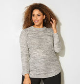 Avenue Shimmer Neutral Pullover