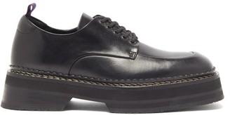 Eytys Phoenix Square-toe Lace-up Shoes - Womens - Black