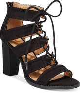 Report Roana Lace-Up Block-Heel Sandals