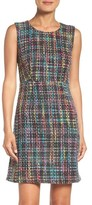 Maggy London Women's Tweed Sheath Dress