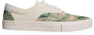 Amiri Banana Leaf-Print Low-Top Sneakers