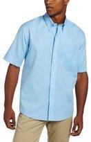 Cutter & Buck Men's Short-Sleeve Epic Easy-Care Nailshead Shirt