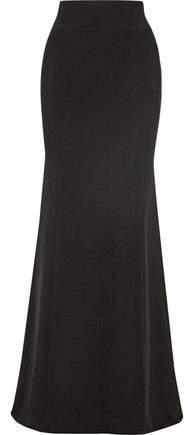 Givenchy Crepe Fishtail Maxi Skirt