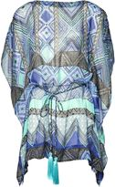 Matthew Williamson Blue Andean Artisan Silk Kaftan