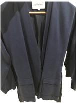 Les Petites Blue Silk Jacket for Women