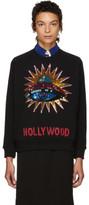 Gucci Black Sequinned Ufo Sweatshirt