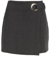 Leith Women's Grommet Pencil Skirt