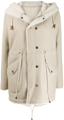 Mr & Mrs Italy Drawstring-Fastening Hooded Jacket