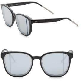 Christian Dior Diorsteps 55MM Mirrored Square Sunglasses