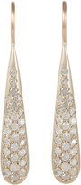 Roberto Marroni Women's Diamond, White Gold & Pink Gold Teardrop Earrings