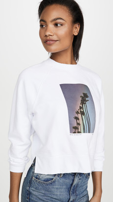 Frame Rainbow Palm Sweatshirt