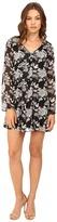Brigitte Bailey Delia Long Sleeve Floral Dress
