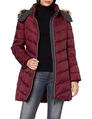 Esprit Women's 099EE1G090 Coat, (Bottle Green 385)