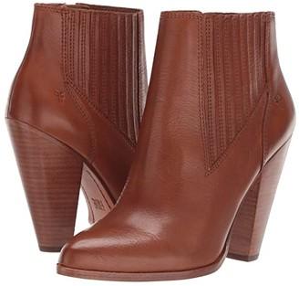 Frye Remy Chelsea (Black Polished Soft Full Grain) Women's Boots