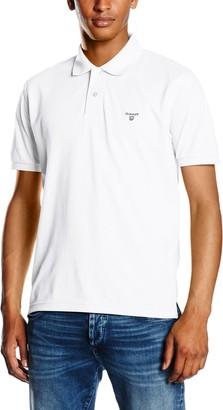 Gant Men's MD. The Summer Pique SS Rugger Polo Shirt