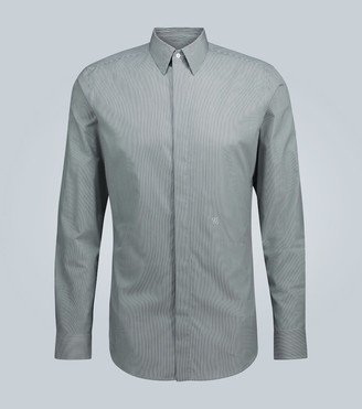 Fendi Pinstripe cotton shirt