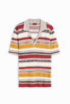 Missoni Towelling Stripe Polo Shirt