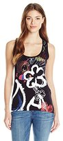 Desigual Women's Knitted T-Shirt Sleeveless 15