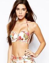 Gossard Birds Of Paradise Strapless Bikini Top