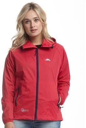 Trespass Womens Qikpac Waterproof Jacket Raspberry