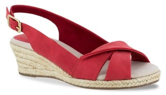 Easy Street Shoes Maureen Espadrille Wedge Sandal