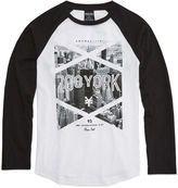 Zoo York Long-Sleeve Raglan Cotton Tee - Boys 8-20