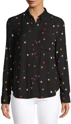 Rails Star-Print Shirt