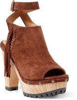 Polo Ralph Lauren Lacey Suede Sandal