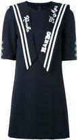 Dolce & Gabbana sailor detail dress - women - Cotton/Polyester/Virgin Wool - 42