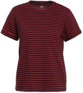 Lee STRIPED Print Tshirt red runner