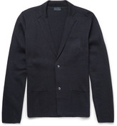 Lanvin Slim-Fit Wool and Cotton-Blend Cardigan