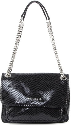 Marc Ellis Rubye L Shoulder Bag In Lizard-effect Leather