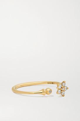 OLE LYNGGAARD COPENHAGEN Shooting Stars 18-karat Gold Diamond Ring - 53