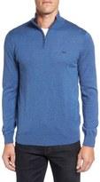 Lacoste Men's Quarter Zip Sweater