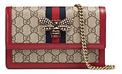 Gucci Women's Queen Margaret Bee GG Wallet