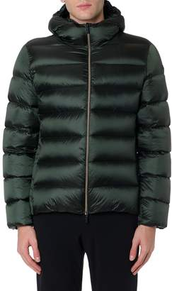 Rrd Roberto Ricci Design RRD - Roberto Ricci Design Green Padded Hooded Jacket