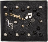 Dolce & Gabbana Black Studs and Pins Wallet