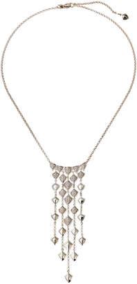 John Hardy Legends Naga Diamond Adjustable Bib Necklace