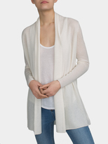 White + Warren Essential Cashmere Trapeze Cardigan