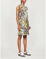 Max Mara S Rocco floral-print cotton midi dress