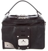 Versace Studded Stardust Leather Satchel