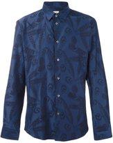 Paul & Joe feather print shirt