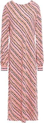 Hofmann Copenhagen Celina Striped Stretch-crepe Midi Dress